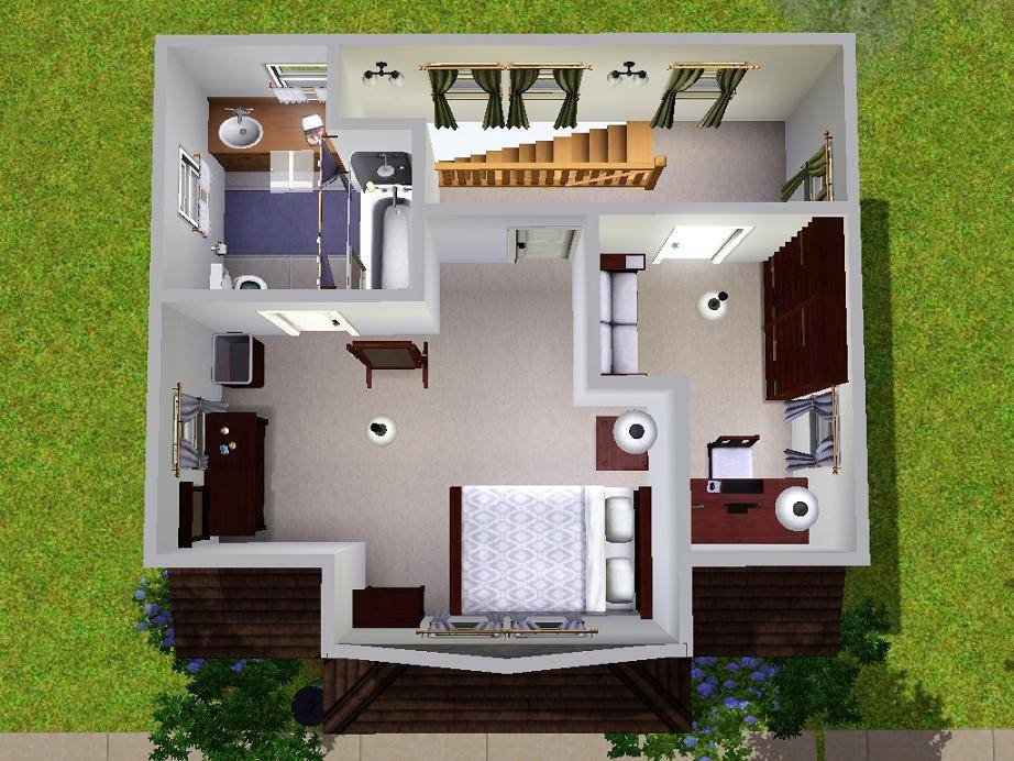 sims starter house plans hecho home plans blueprints