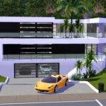 Sims Ultra Modern Mansion Link Youtube