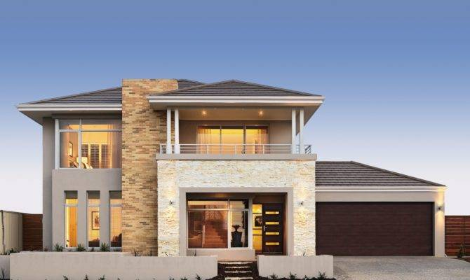 Sinatra Double Storey Designs Broadway Homes