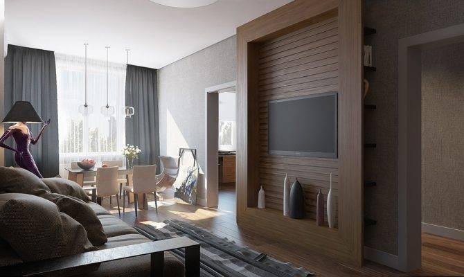 Single Bedroom Apartment Designs Under Square Meters