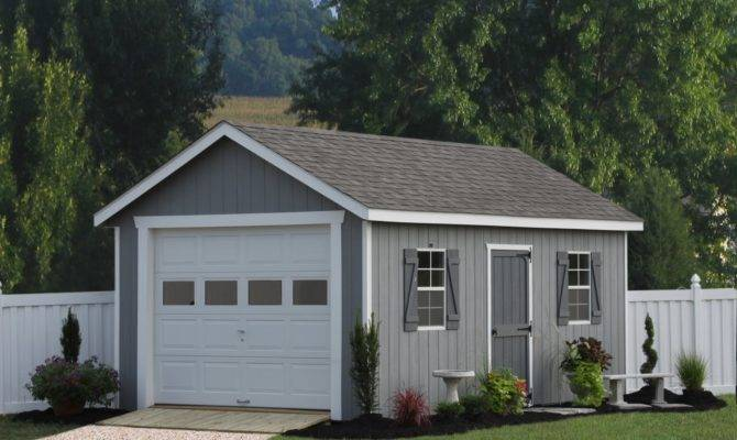 Single Car Garages Sheds Unlimited One Garage