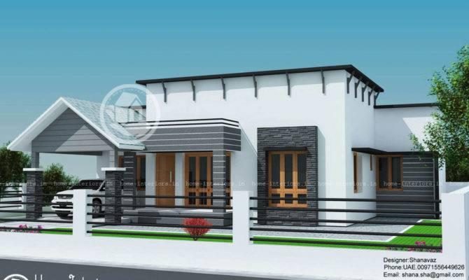 Single Floor Contemporary Home Design