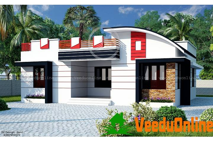 Single Floor Contemporary Home Designs
