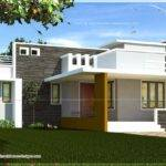 Single Floor Contemporary House Design Newbrough