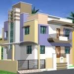 Single Floor Duplex Home Estimation Plan Details Gharexpert