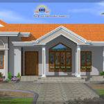 Single Floor House Elevation Kerala Home Design