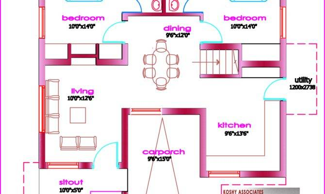 Single Floor House Plan Kerala Home