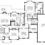 Single Level House Plans Plan Main Floor