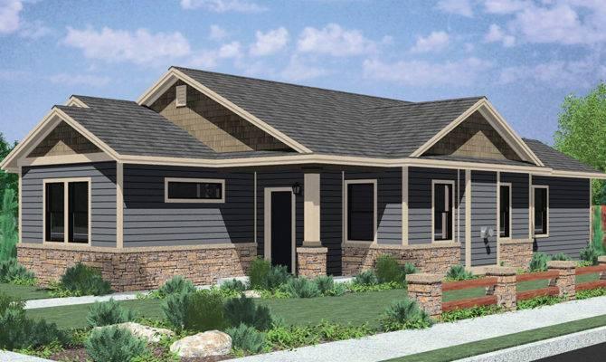 Single Level House Plans Simple Living Homes