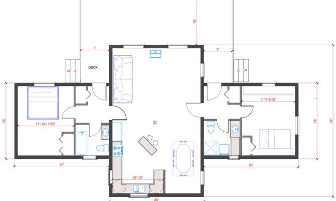 Single Level Open Floor Plan Quotes