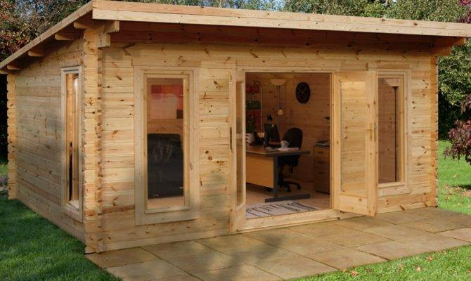 Single Shed Roof House Plans Cabin