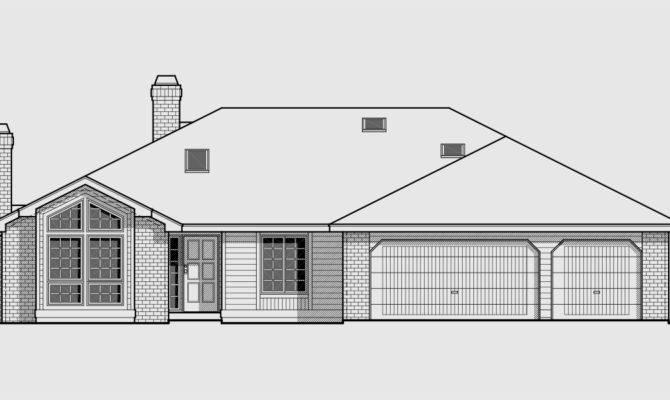 Single Storey Bedroom House Plans Joy Studio Design