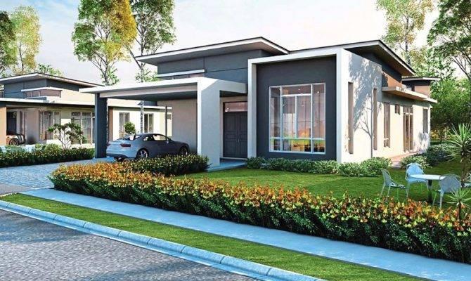 Single Storey Bungalow House Design Malaysia Home