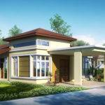 Single Storey Bungalow House