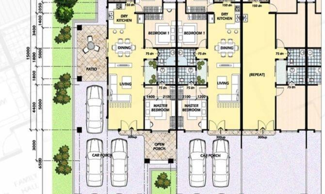 Single Storey Terraced Houses Rich Venture