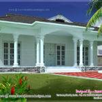 Single Story Bed Room Villa House Design Plans