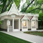 Single Story Building Exterior Design Home