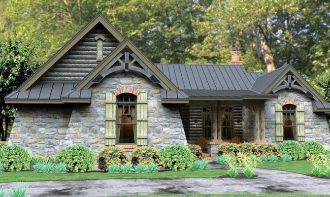Single Story Cottage House Plans