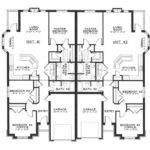 Single Story Duplex Floor Plans Google Search Architecture
