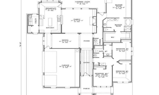 Single Story House Designs Large Plans