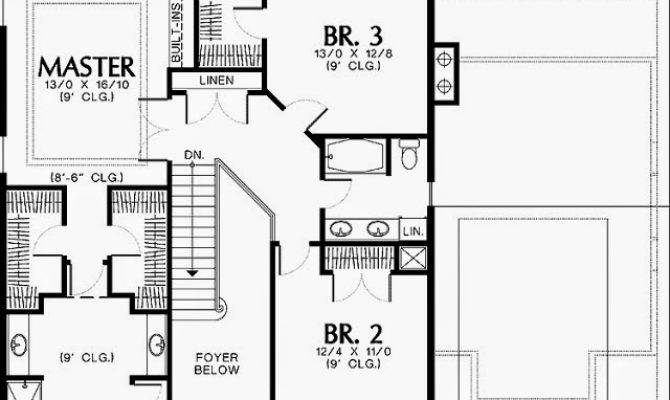 Single Story House Plans Two Masters Home Deco