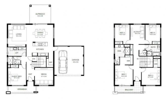 Single Story Small House Plans Floor