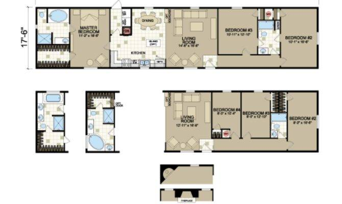Single Wide Manufactured Homes Modular Mobile Land
