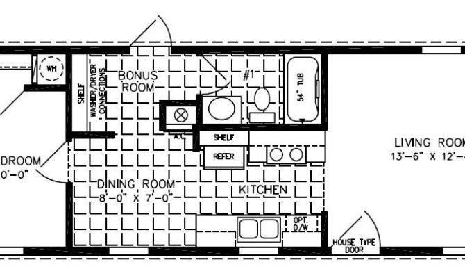Single Wide Mobile Home Floor Plans New