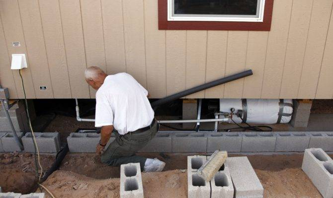 Single Wide Mobile Home Plumbing Diagram Story