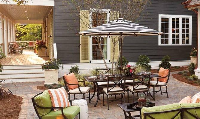 Six Ideas Backyard Patio Designs Theydesign