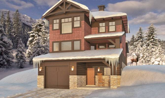 Ski Chalet Style House Plans