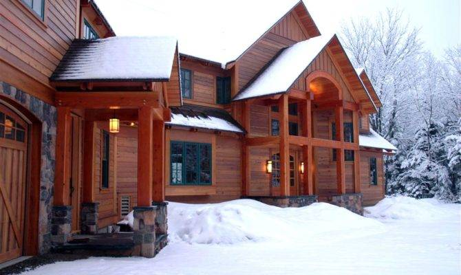 Ski House Plans Mountain Chalets Small