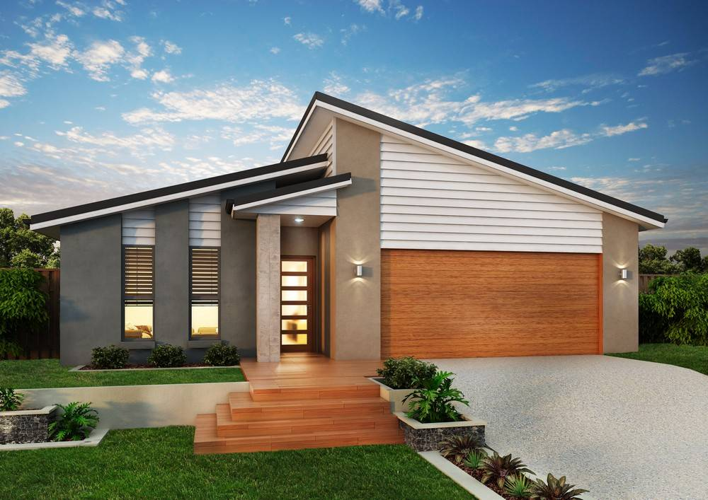 Skillion Roof House Designs Modern Plans Home Plans Blueprints 18029