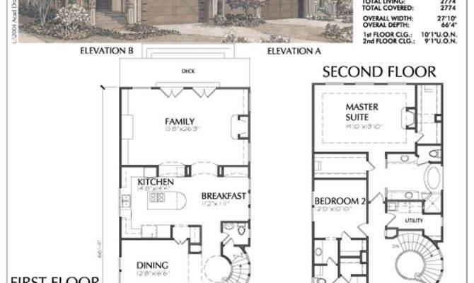 Skinny Home Plans Awesome Narrow Urban Small