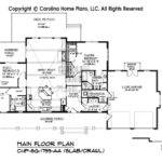 Slab Grade Small House Plans Home Design Style