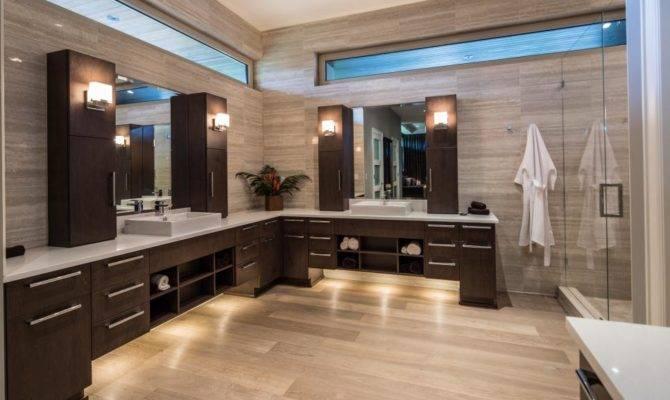 Sleek Contemporary Master Bathroom Teresa Ryback Hgtv