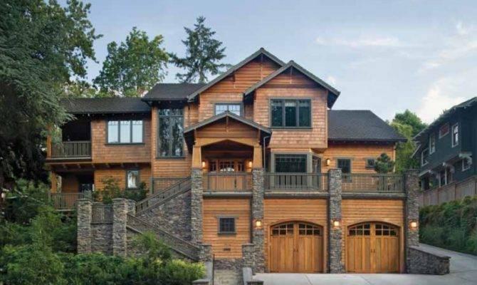Sloped Lot House Plans Walkout Basements Dream Home Source