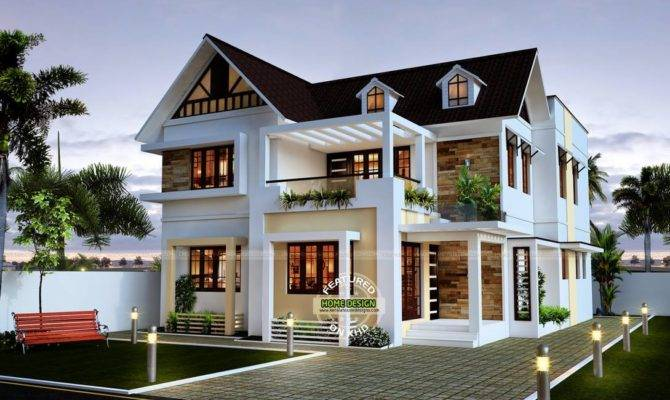 Sloped Roof Bungalow Font Elevations Collection