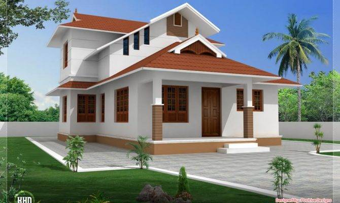 Sloped Roof House Pixdaus