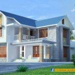 Sloped Roof Kerala Home Design