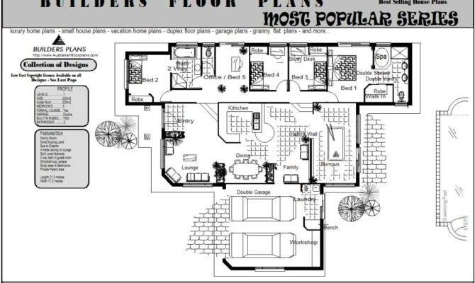 Sloping Land Split Level Floorplan Real Estate Bedrooms