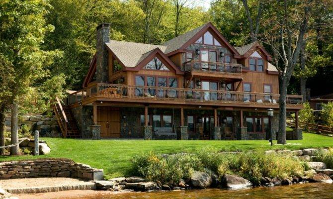 Sloping Lot House Plans Home Designs Lake Valuable