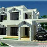 Sloping Roof Home Bedroom Kerala Design