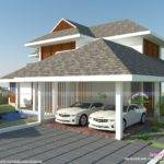 Sloping Roof Residence Kerala Home Design Floor