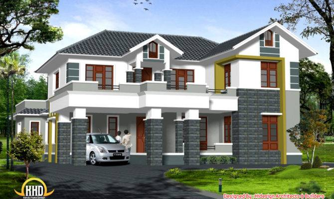 Sloping Roof Story Home Appliance