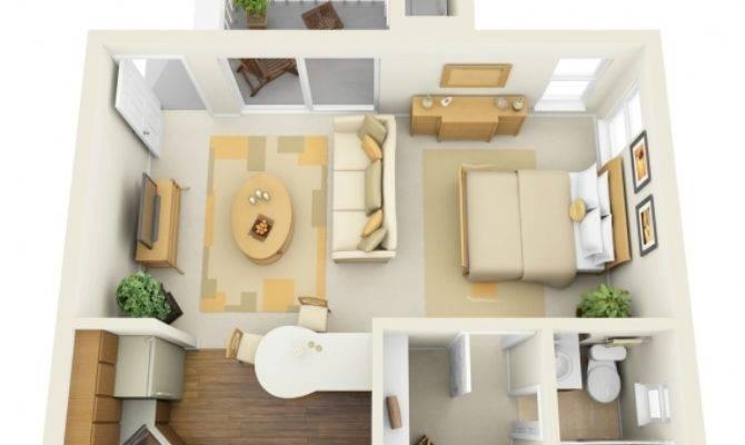 Small Apartment Design Floor Plan