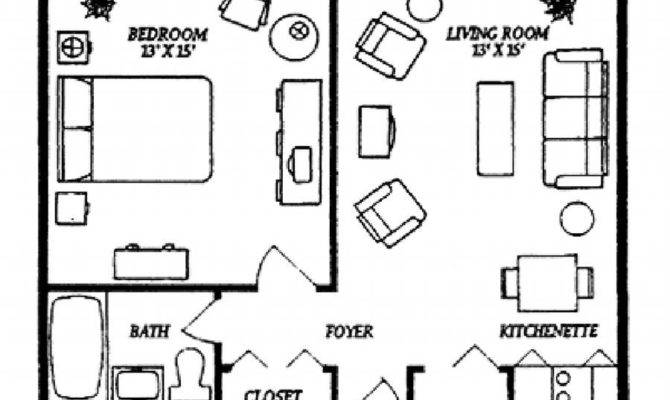 Small Apartment Floor Plans One Bedroom Thefloors