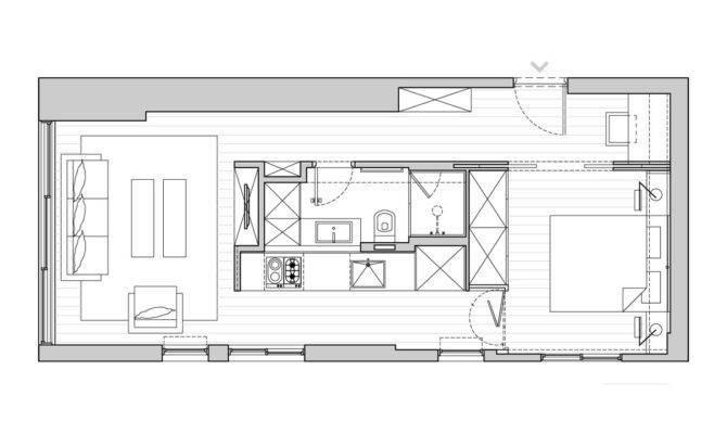 Small Apartment Tel Aviv Functional Design