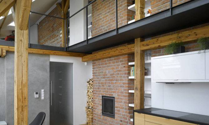 Small Attic Loft Apartment Prague Idesignarch