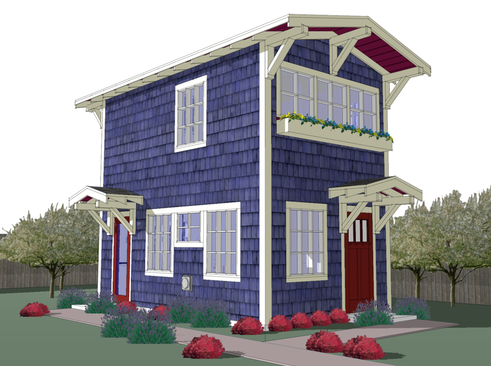 Small Backyard Cottage Designed Mother Law Suite Home Plans